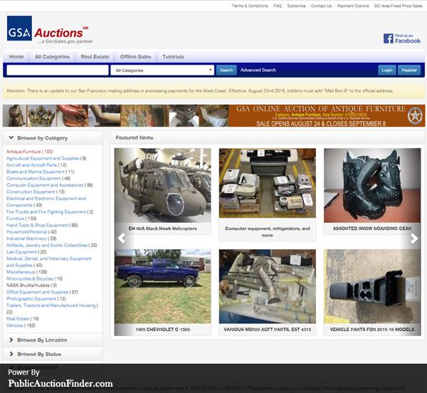 Top 10 Government Auction Sites Public Auction Finder