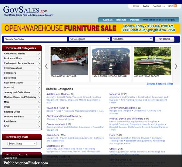 Top 10 Government Auction Sites |Public Auction Finder