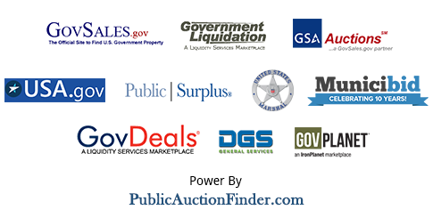 Gsa Auctions General Services Administration Government Site For
