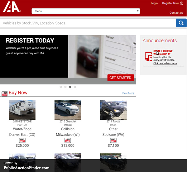 Top 10 Salvage Auto Auction Sites |Public Auction Finder