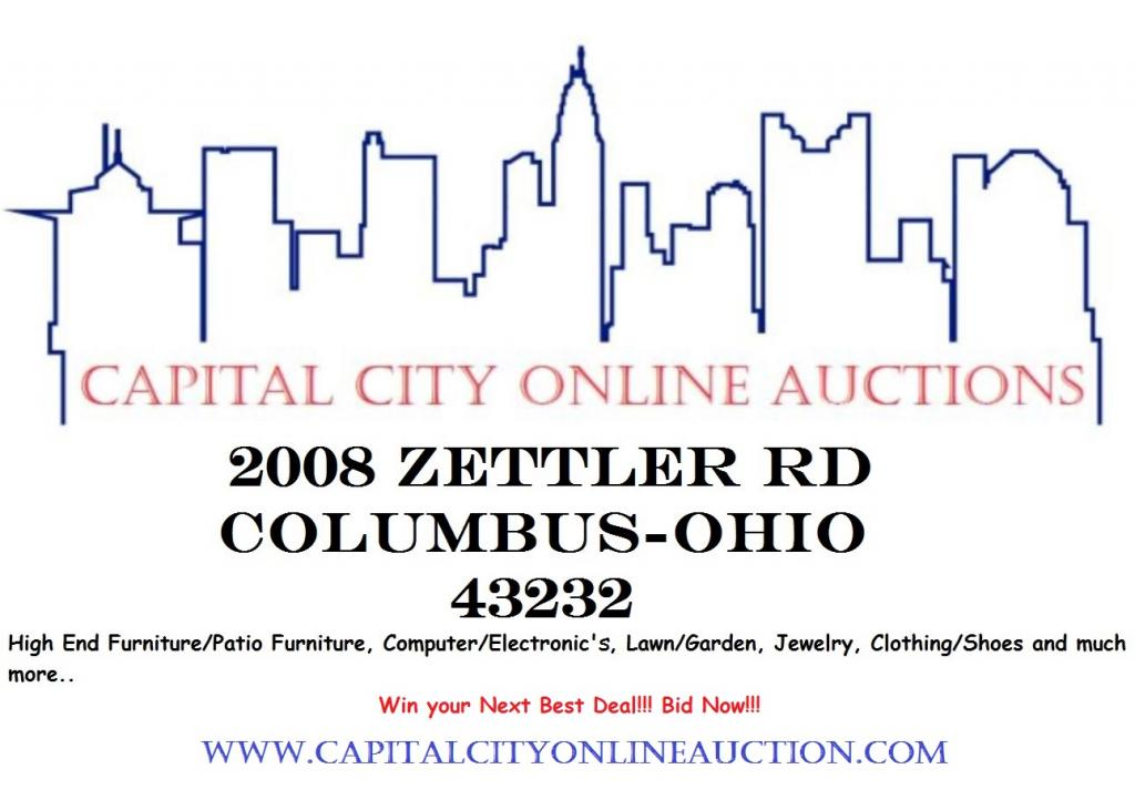 Capital City Online Auction Columbus Ohio