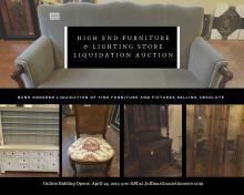 Bank-Ordered-Furniture--Lighting-Store-Liquidation on Public Auction Finder